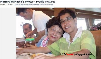 Anak Tun Mahathir Maizura minum arak?