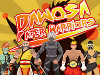 Download Dawosa : Paper Warriors Deluxe v1.7 Mod Apk (Unlimited Money + No Ads) Terbaru 2017