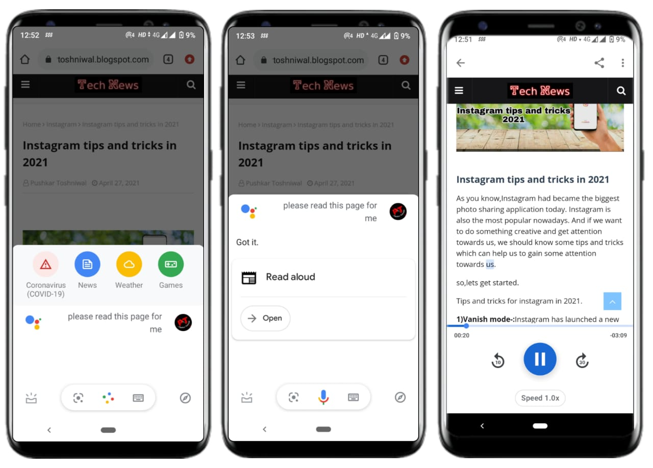 9+ weird Google assistant tricks that you must try in 2021