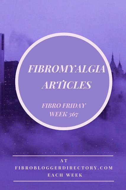 fibro friday fibromyalgia link up