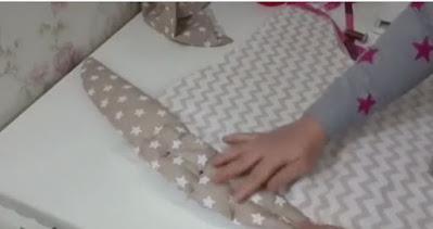 تفصيل و خياطة اكسسوار جديد  و عملي للرضيع 👶  -  اطقم الرضيع