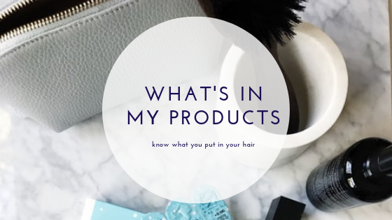 what's in my products