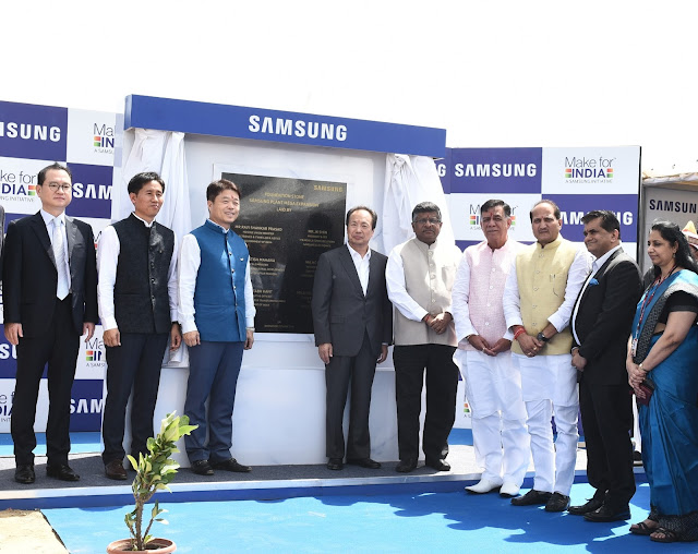 Samsung to invest Rs. 4915 crore for Noida plant expansion and strengthen its core proposition of Make in India, Make for India