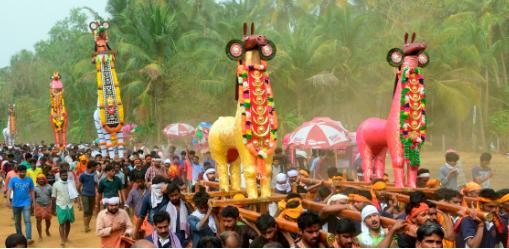 Kuthira vela Uthralikkavu Pooram