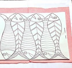 Cách vẽ mẫu thêu lên vải - Hình 4