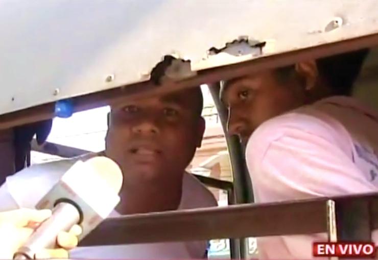 Video: Miembro del Falpo que lanzó excremento a Suprema Corte de Justicia no se arrepiente