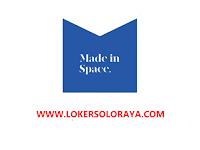 Lowongan Kerja Solo Raya Marketing di Made in Space