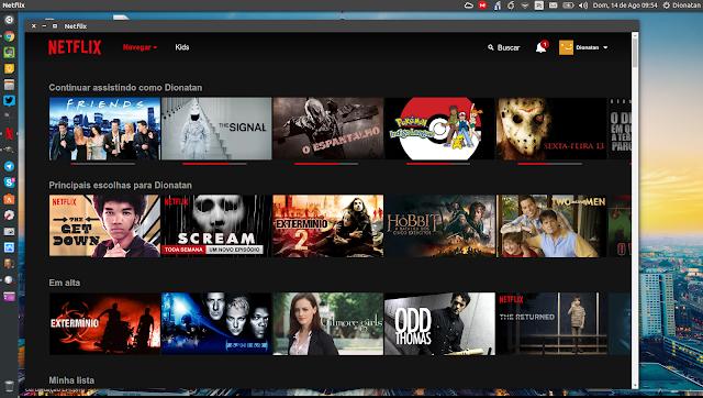 Netflix Chrome App Linux