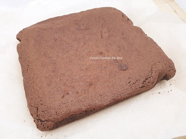 brownie de chocolate y canela