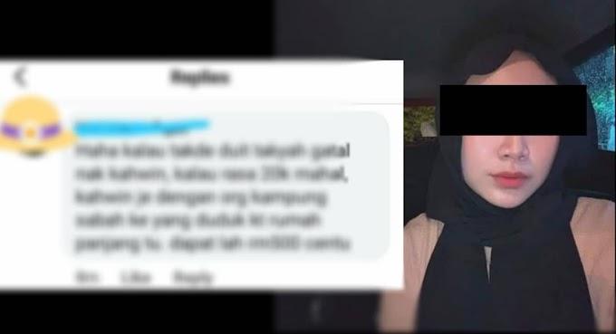 Gadis ini diserang netizen sehingga buat laporan polis. Tinggal komen merendahkan wanita Sabah.
