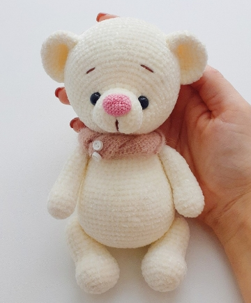 Receita grátis amigurumi do ursinho Teddy - Fio amigurumi da Círculo | 435x360