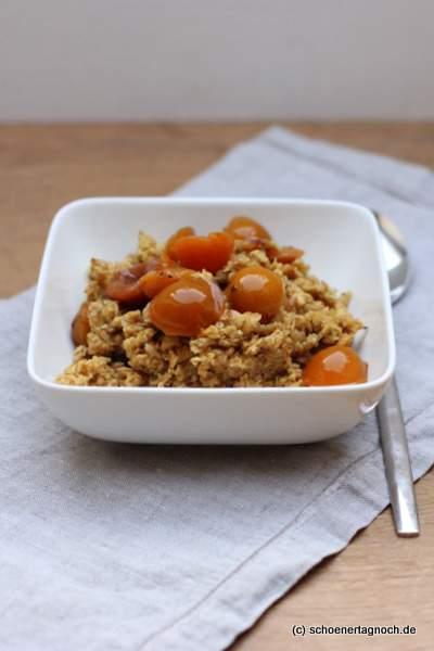 Winterliches Gewürz-Porridge aus Einfach gesund essen to go