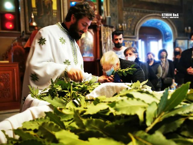Αργολίδα: Η Κυριακή των Βαΐων γιορτάστηκε με τα νέα υγειονομικά μέτρα στις εκκλησίες