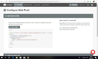 CARA MEMBUAT WEB PUSH NOTIFICATION DI BLOGSPOT