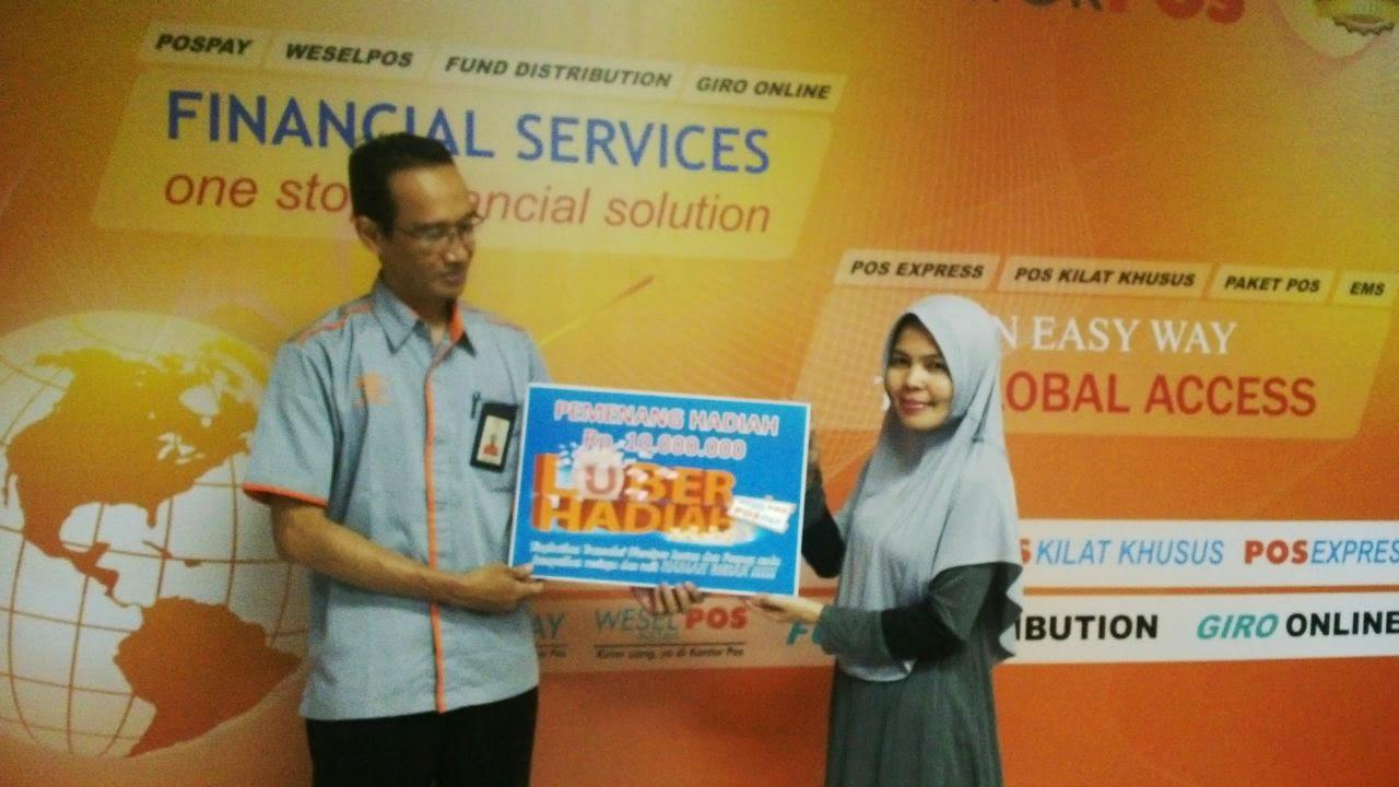 Ketiban Rejeki Luber Hadiah 2014 Pt Pos Indonesia Katerina