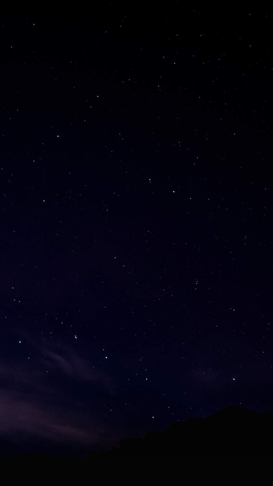 Night sky AMOLED