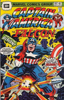 Captain America and the Falcon #197