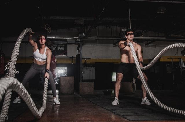 men workout routine.