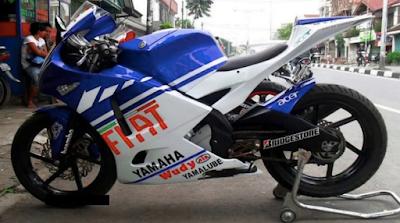 Modifikasi Full Fairing Yamaha Vixion