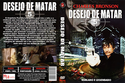 Desejo de Matar 5 - A Face da Morte (Death Wish 5 - The Face of Death) DVD Capa