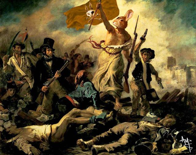 100 Έργα ορόσημα στην ιστορία της Ζωγραφικής... μέρος 2. Από το φονικό κουνέλι