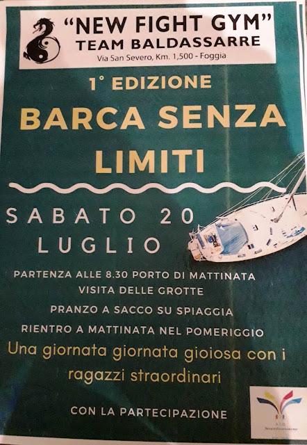 """""""Barca senza limiti"""", al via la prima edizione con i """"ragazzi straordinariamente abili"""""""