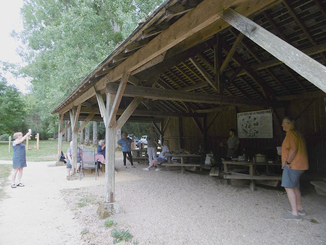 Picnic at Chaumussay. Indre et Loire. France. Photo by Loire Valley Time Travel.