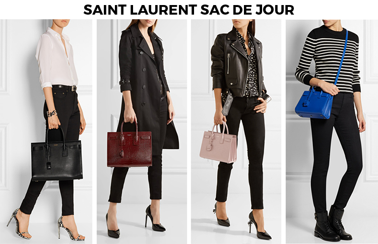 d2a187ba Review: Saint Laurent Sac De Jour Leather Tote - Elle Blogs