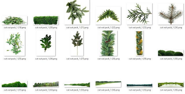 Vegetation Cutout Pack #02