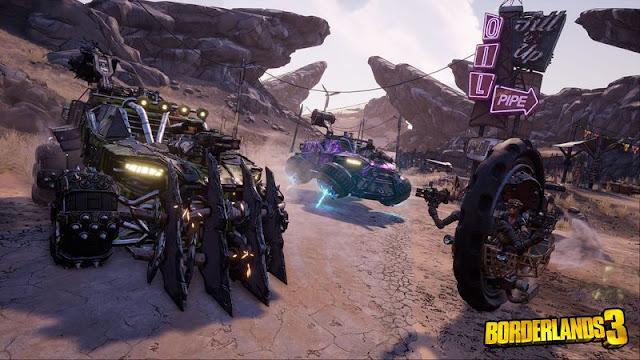 اطلاق لعبة Borderlands 3 مع عرض تشويقي لاسلوب اللعب-  exclusive to the Epic Store on PC