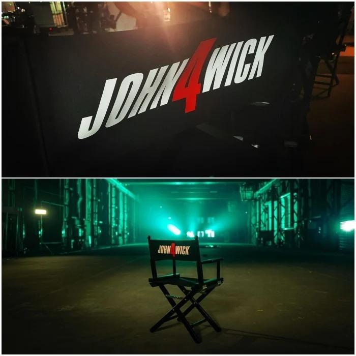 ¡Por fin! Inicia el rodaje de 'John Wick 4'. Keanu Reeves está de vuelta