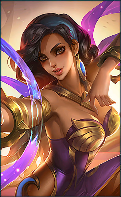 Esmeralda Astrologer Heroes Mage Tank of Skins V1