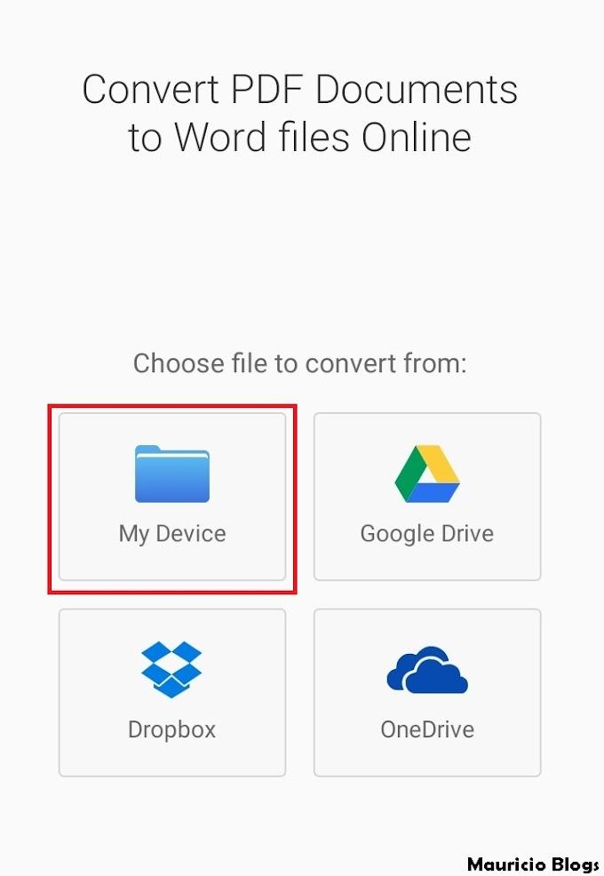 Como Convertir PDF a Word En Celular Android 2021 🥇