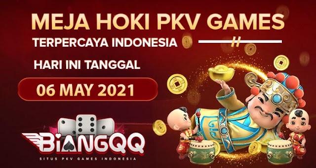 Berita Pkv Bocoran Meja Hoki Pkv Games BiangQQ Tanggal 06 May 2021