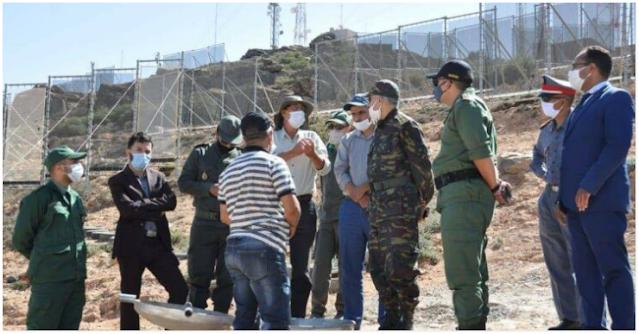 سيدي افني: عامل الإقليم في زيارة ميدانية لموقع إنشاء محطة جديدة لحصاد الضباب