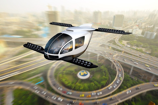 Flying cars planned for 2025