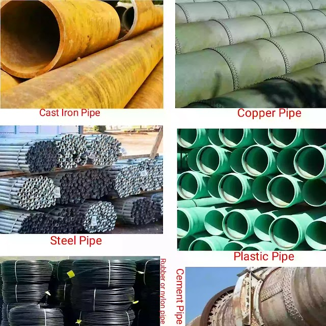 Different types of pipe|Types of pipe fittings|Pipe fitting tools
