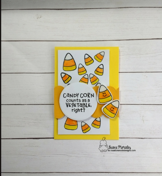 Candy Corn counts as a vegetable, right? by Diane features Candy Corn by Newtons Nook Designs; #newtonsnook