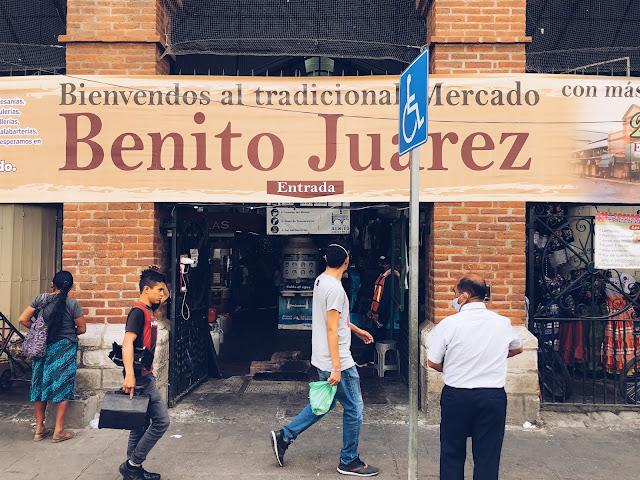 Mercado Benito Juarez Oaxaca City Mexico