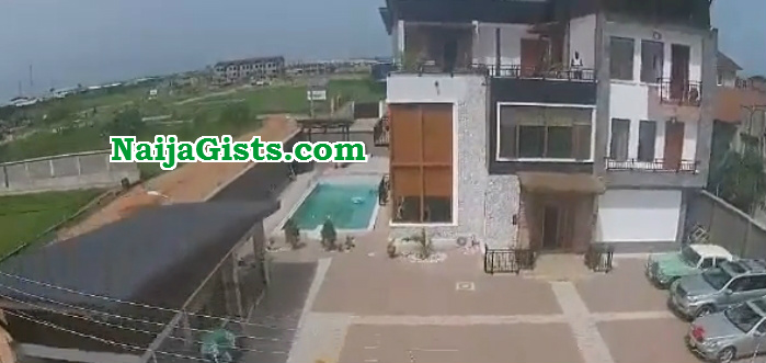 kunle afolayan mansion pictures