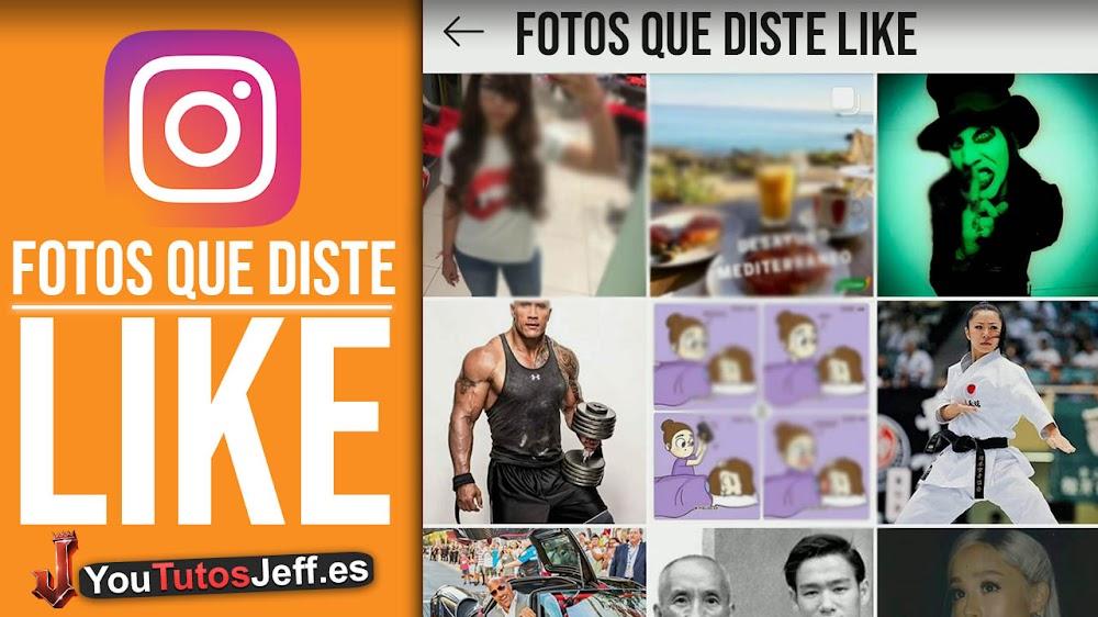 Como Ver Las Fotos que Di Like en Instagram