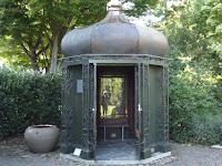 The famous Mona Vale Garden gazebo - Christchurch, New Zealand
