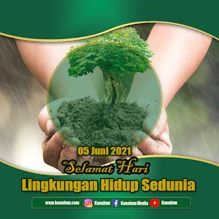 poster selamat hari lingkungan hidup sedunia psd - kanalmu