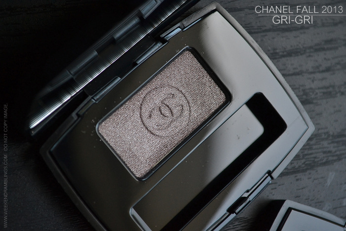 Chanel Fall 2013 Superstition Makeup Collection Ombre Essentielle Soft Touch Eyeshadow Singles Gri Gri Metallic Taupe Photos Swatches Indian Darker Skin Beauty Blog