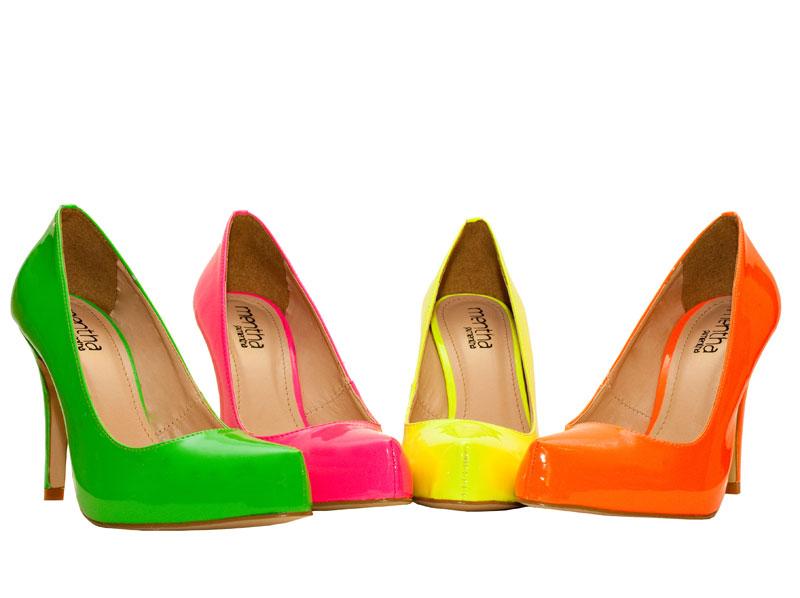 65340dcfb Notícias Da Moda: Sapato Colorido