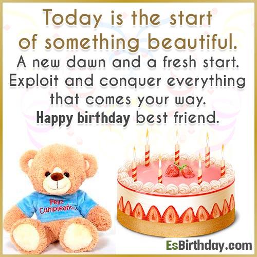 Birthday Friend wish