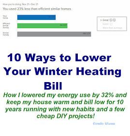 10 Easy Ways to Lower Winter Heating Bills