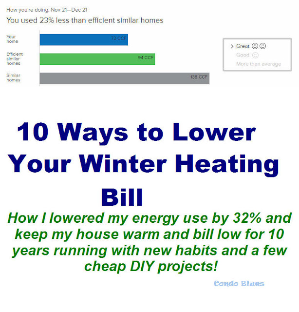 10 Easy Ways to Lower Winter Heating Bills