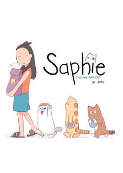 Saphie: The One-Eyed Cat