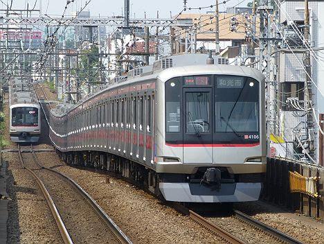 東急東横線 副都心線直通 通勤特急 和光市行き1 5050系